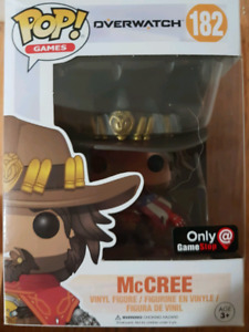 Gamestop exclusive American McCree Pop Figure (unopened)