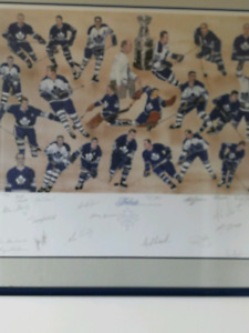 67 Toronto Maple Leafs Stanley Cup tribute