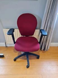 Torasan executive lumber office chair