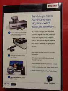 Roxio easy VHS to DVD for Mac (New paid 79.99$) Cornwall Ontario image 2