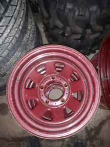 15x8 and 16x8 5x5.5 dodge ram cj ford tracker rims