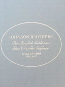 Johnson Brothers 20 piece China set