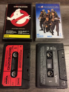 Ghostbusters ost cassette tape audio s.o.s fantomes