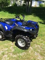 2007 yamaha grizzly 700.