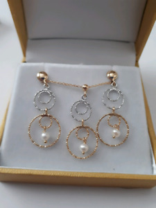 New! earrings & necklace set