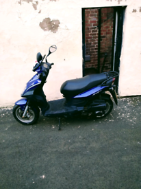 Sym 125 scooter immaculate condition