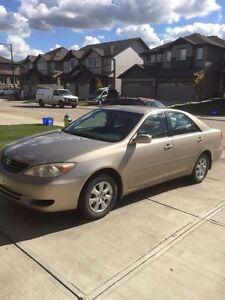Toyota Camry 2003 clean car