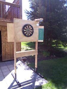 Portable dart board Stand