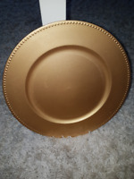 Gold charge plate rental