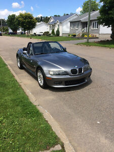 2002 BMW Z3 Cuir, M Package 3,0 litres Roadster