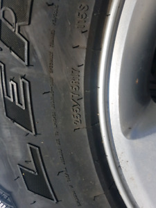 Jeep Rims and Tires  225 75R17