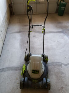 """Lawnmaster 18"""" electric mower"""