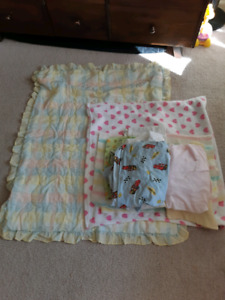 Cloths and toddler blankets &bed sheets