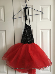 Lightly worn jazz costume for ~8 yr old