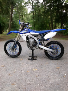 Clean stock 2012 yz450f