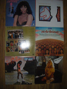 6 collectible Records for sale