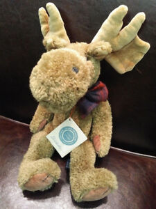 Boyds Bears - MILLIKEN MOOSE plush collectable - Retired