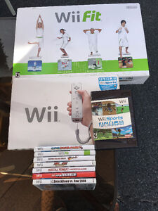 WII ET WII FIT AU COMPLET
