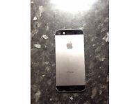 Black/silver iphone 5s 16GB