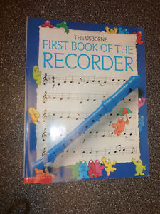 The Usbourne First Book of the Recorder (book only, NO recorder)