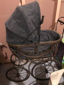 Vintage baby doll stroller