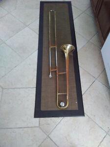 Vintage Ambassador TromboneC/W Case