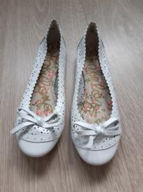 Next ladies flat shoes. Size 4