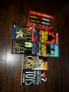 9 Books by James Patterson