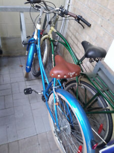 LADIES BLUE 12 spd...size 26 BIKE almost new