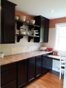 For Sale:  Kitchen Cabinets and Countertop