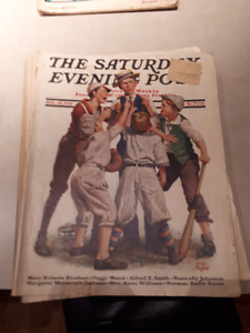 Saturday Evening Post Issues