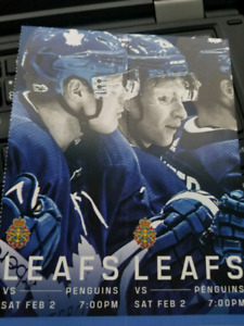 Tonight - Penguins at Leafs - Great Blues in Ice Box