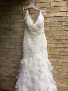 New wedding dress, never worn, Pronovias Galante Stratford Kitchener Area image 6