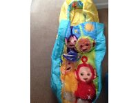 Teletubby toddler ready bed - new