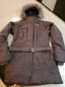 Woman's down filled North Face winter jacket