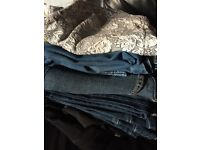 Size 14 trousers, jeans and skirt bundle £15ovno