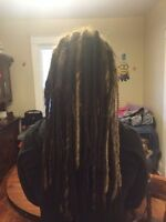 Dreadlock maintenance and installations!
