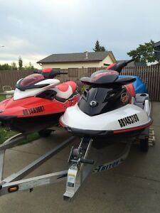 2008 Seadoo RXP and 2008 wake