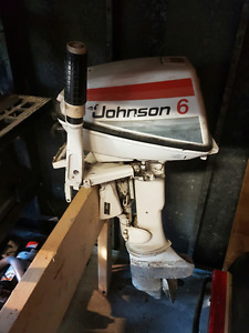 Price reduced - Used 6hp Johnson outboard
