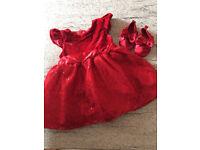 Girl 3-6 month dress