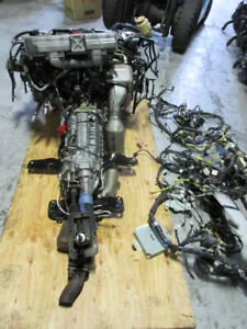 MOTEUR SUBARU WRX STI EJ207 TURBO ENGINE 6SPEED TRANSMISSION 2.0