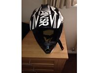 ANSR motorcycle helmet