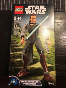 Lego Star Wars Rey, Buildable Figures *New