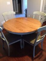 High Quality Maple Table set from Sears Furniture