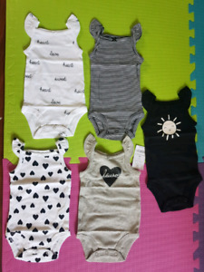 Brand new 3-6 month old onezies