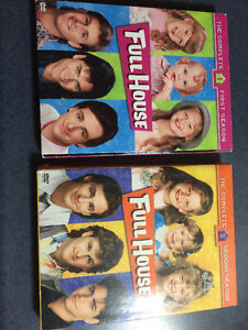 Full House seasons 1&2 on DVD boxsets