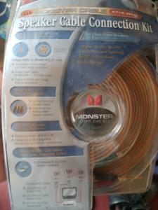 Speaker cable kit