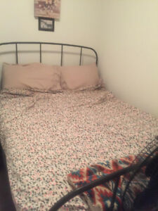 Double bed + Mattress + Box spring