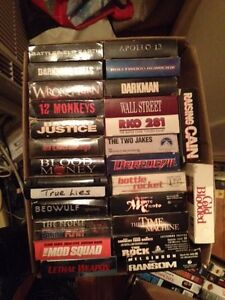 140 VHS Movies, film of year, action ask 1.00 or BO takes all London Ontario image 2