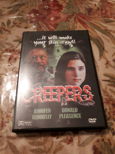 Creepers dvd Jennifer Connelly Donald pleasence  horror